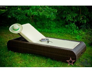 Łóżko ogrodowe DELICATO