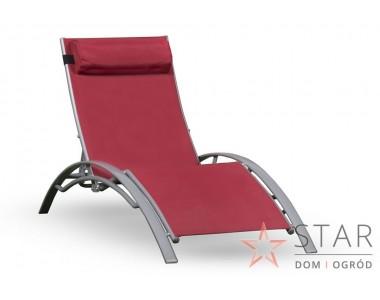 Leżak Stella czerwony