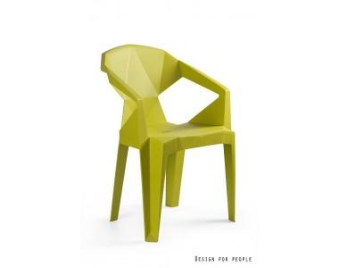 Krzesło Muze oliwkowy