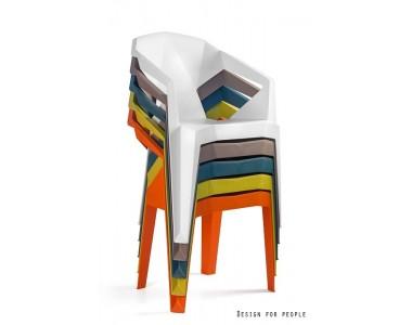 Krzesło Muze brązowe