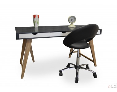 Nowoczesne designerskie biurko z drewna