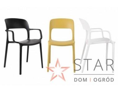 Krzesło z podłokietnikami Flexi