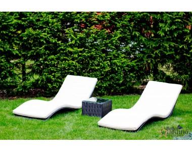 Leżanki ogrodowe SUCCESSO biały