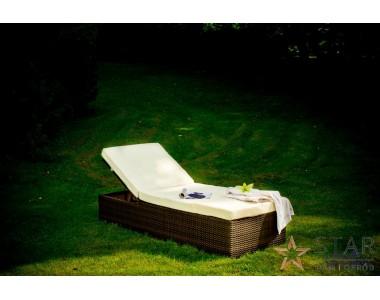 Łóżko ogrodowe ESIGENTE 001 ciemny brąz