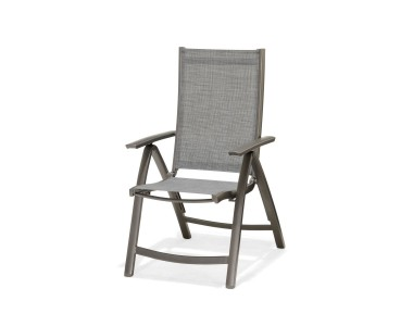 Krzesło składane z podłokietnikami Solana