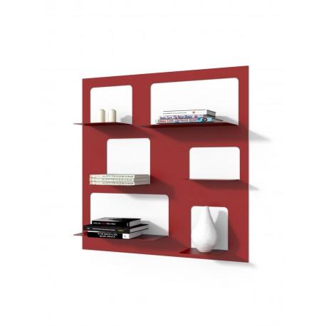 Biblioteczka Libra 3 czerwona