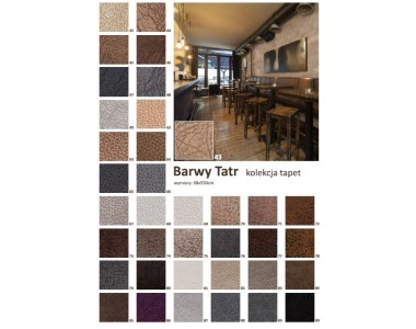 Tapeta Tekstylna Barwy Tatr