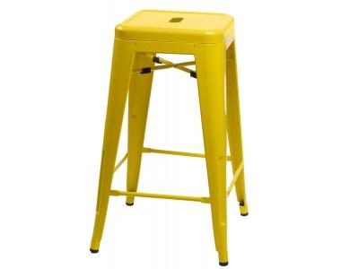 Hoker Paris 75cm żółty insp. Tolix