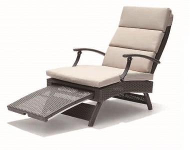 Fotel Acapulco brązowy