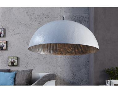 Lampa Glow biel/srebrny