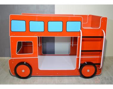 Czerwony Autobus - Łóżko Piętrowe