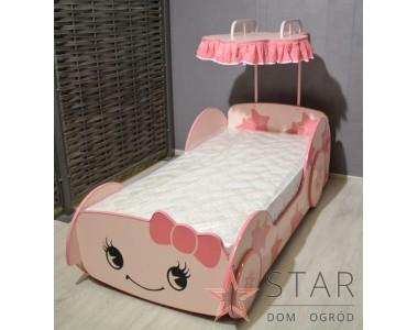 Pinki Auto-łóżko
