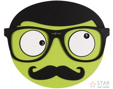 Zegar Mr. Mustache