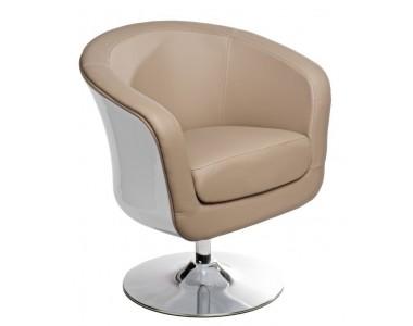 Fotel Magnum K-biały, S- beż
