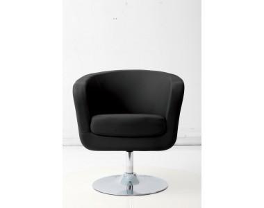 Fotel Magnum K-biały, S- czarne