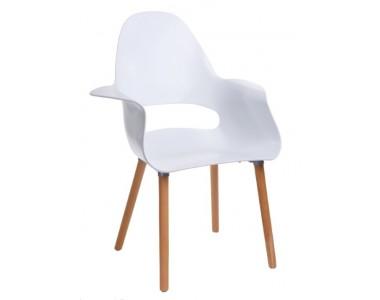 Krzesło A-Shape PP białe
