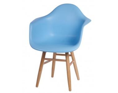 Krzesło P018 Plus niebieskie