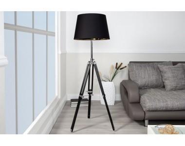 Lampa podłogowa Paura czarna
