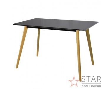 Stół Miluza mniejszy czarny